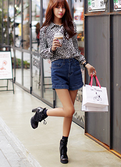 秋のオシャレ韓国ファッション♡