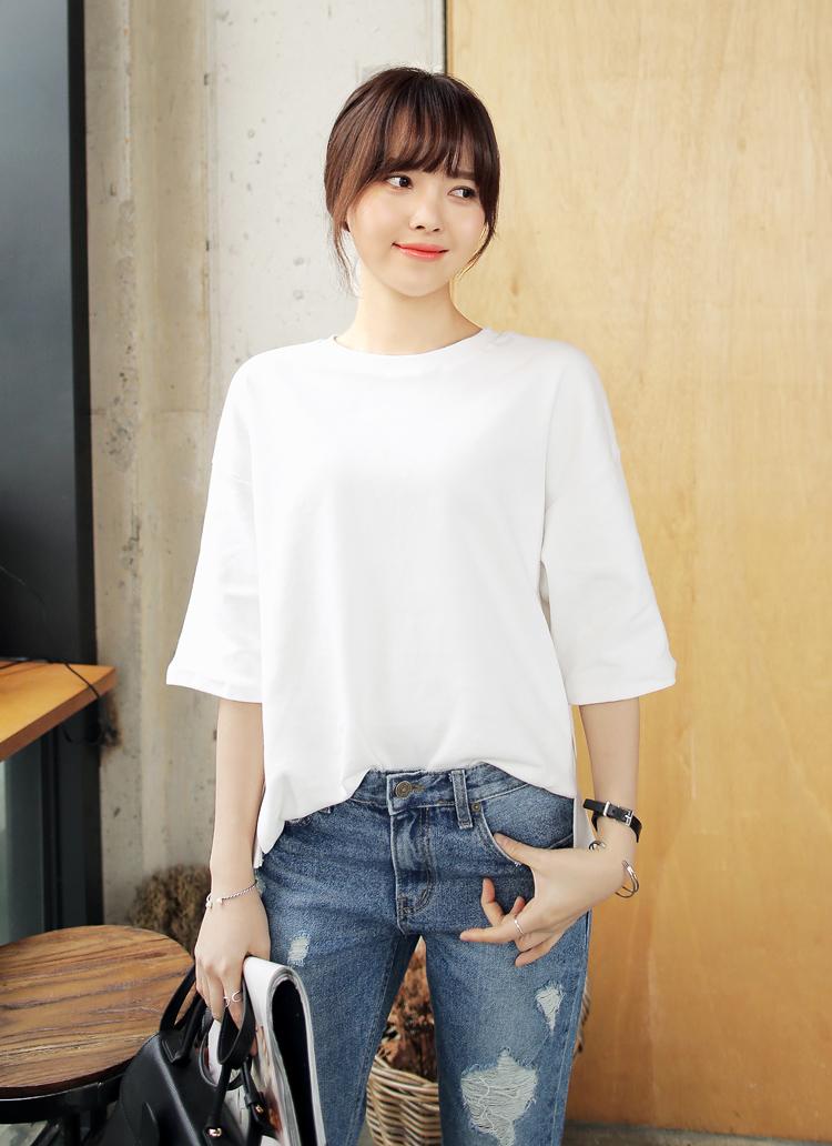 コットンボックスTシャツ・全15色