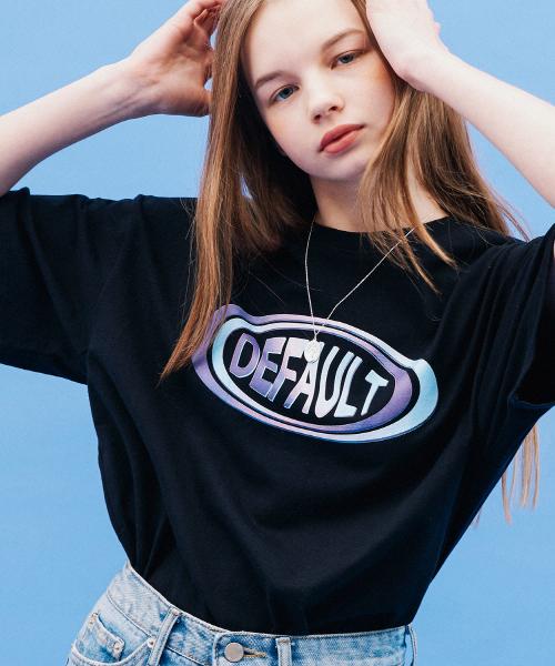 *Default*CONVEX LENSロゴTシャツ(ブラック)