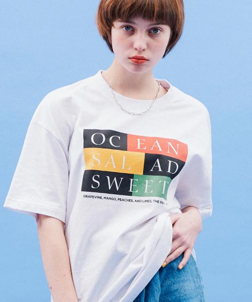 *Default*カラーボックスTシャツ(ホワイト)