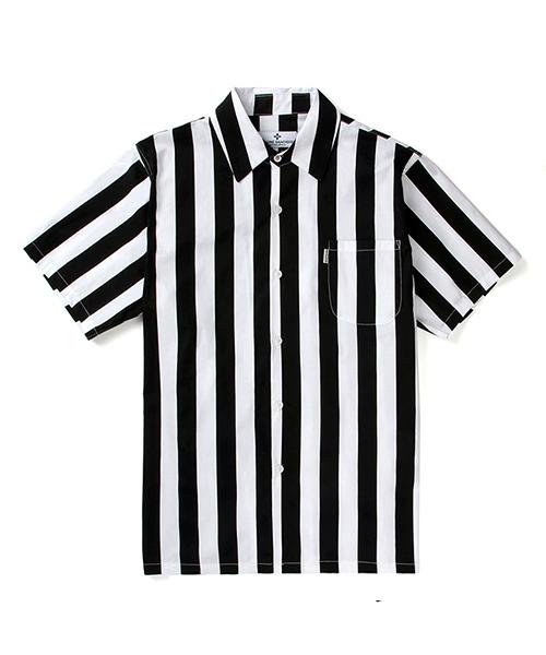 *SAINTPAIN*18Sレフリーシャツ-ブラック