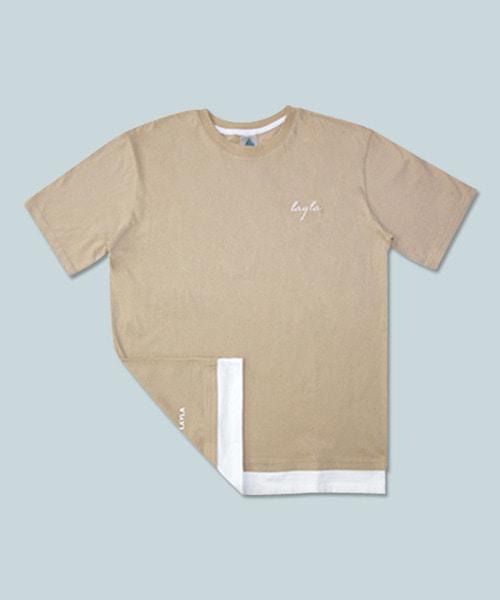 *DIAMOND LAYLA*リラックスTシャツ3(ベージュ)