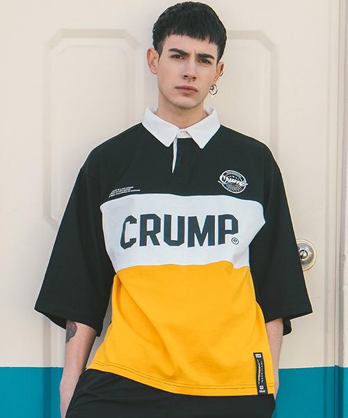 *CRUMP*ラグビーTシャツブラック