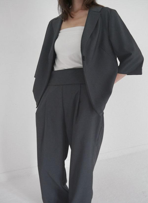 *pluie suit*7分丈スリーブジャケット