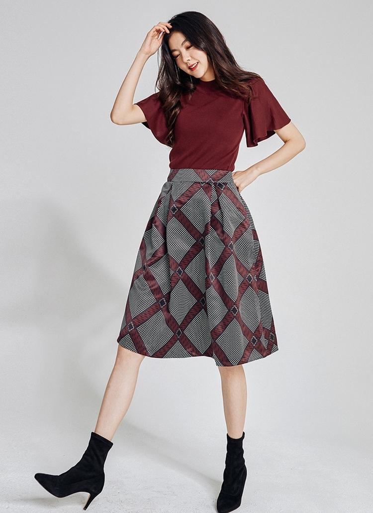 パターンAラインスカート
