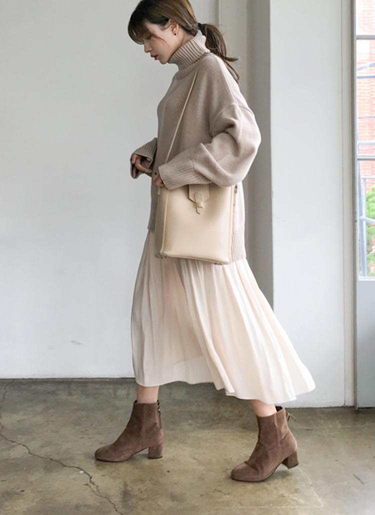 ギャザードレープスカート