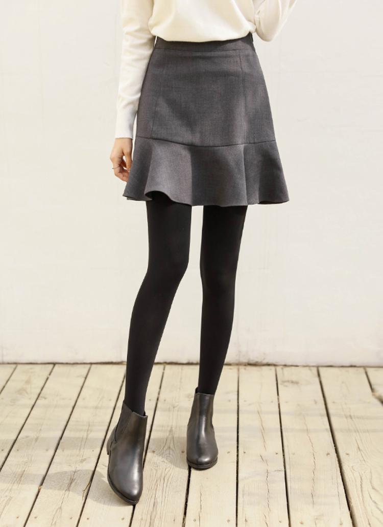 バックゴムミニフレアスカート