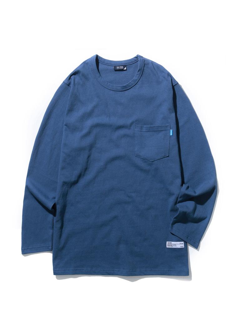 ポケットポイントロングスリーブ(ブルー)