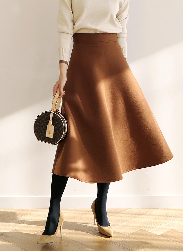 ネオプレーンAラインスカート・全4色