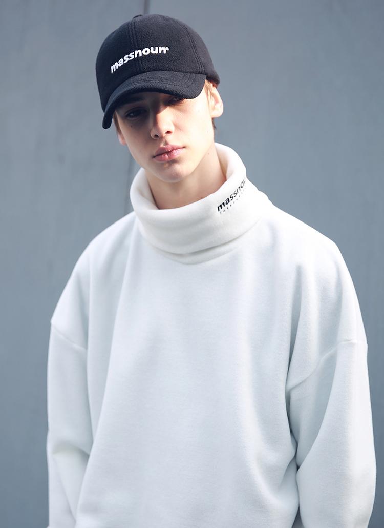 ネックロゴソフトタッチTシャツ(ホワイト)