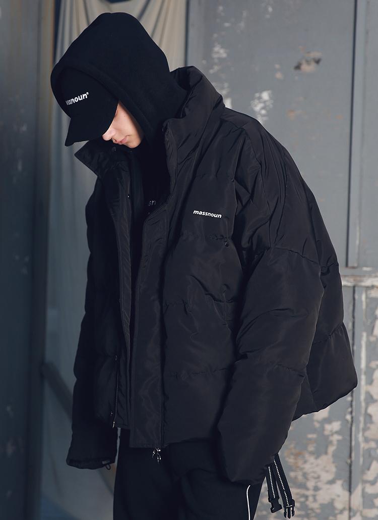 SLロゴダウンジャケット(ブラック)