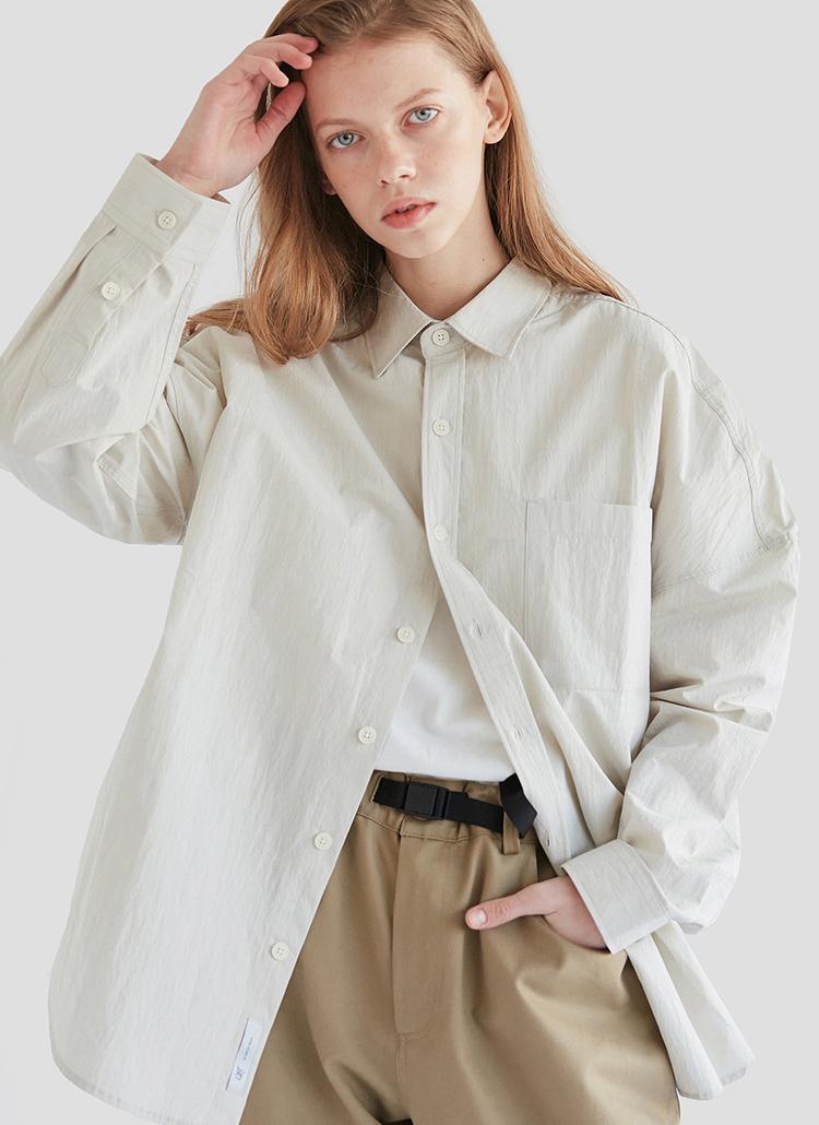 CRTスタンダードシャツ(クリーム)