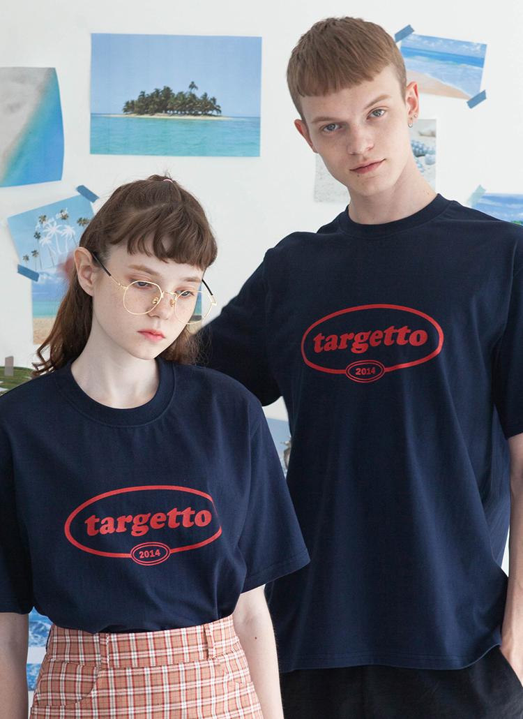 ビッグサークルロゴTシャツ(ネイビー)