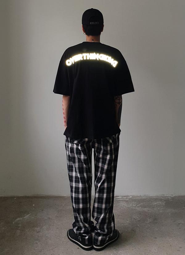 リフレクションロゴオーバーTシャツ