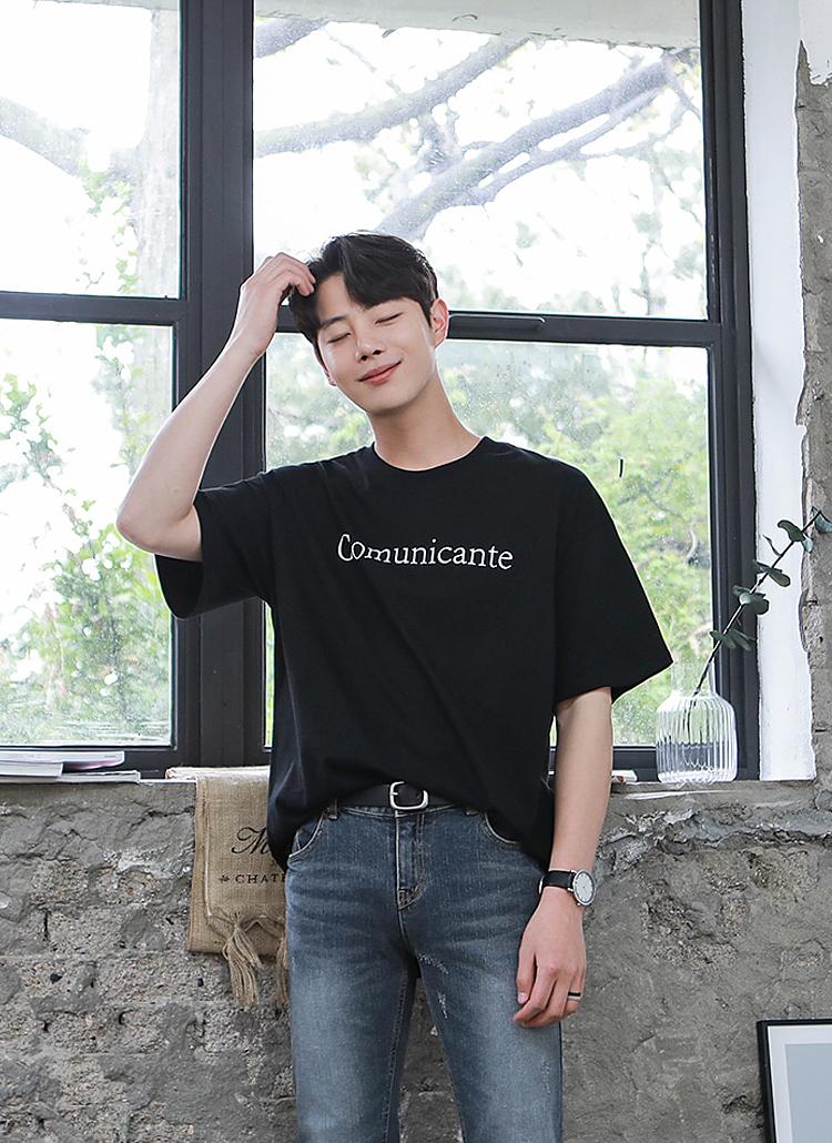 ComunicanteロゴTシャツ