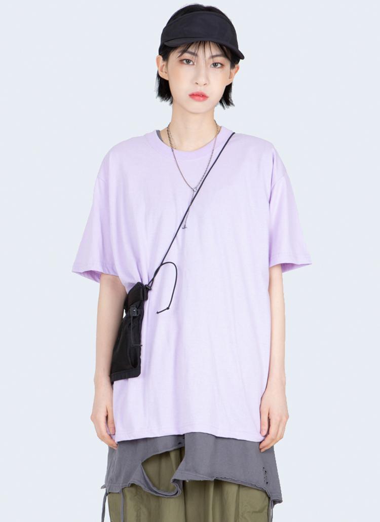サマーコットン半袖Tシャツ