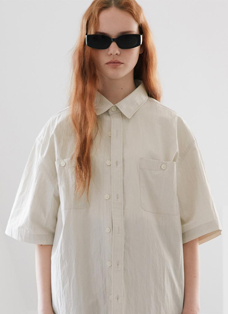 ワークシャツ(クリーム)