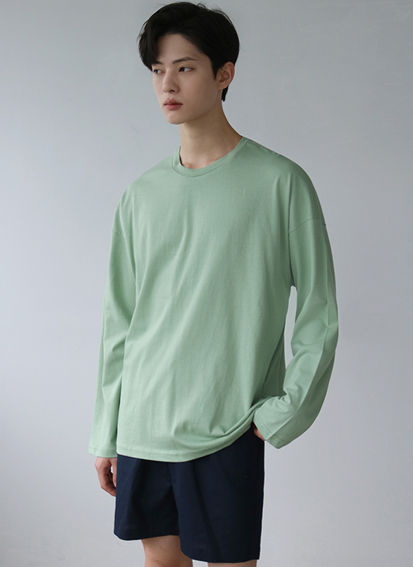 アイスコットン長袖Tシャツ