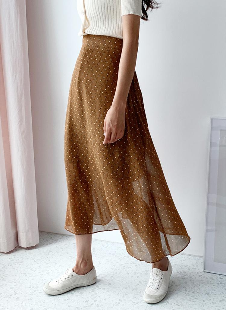 フラワードットスカート・全3色