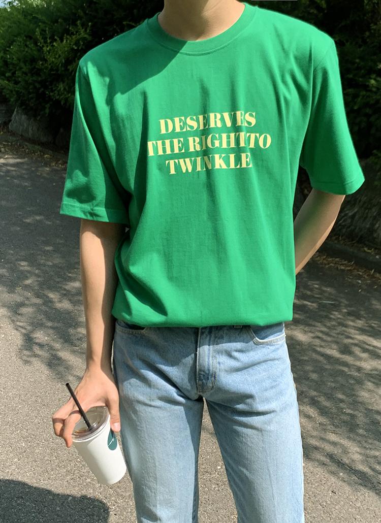 Twingコットン半袖Tシャツ