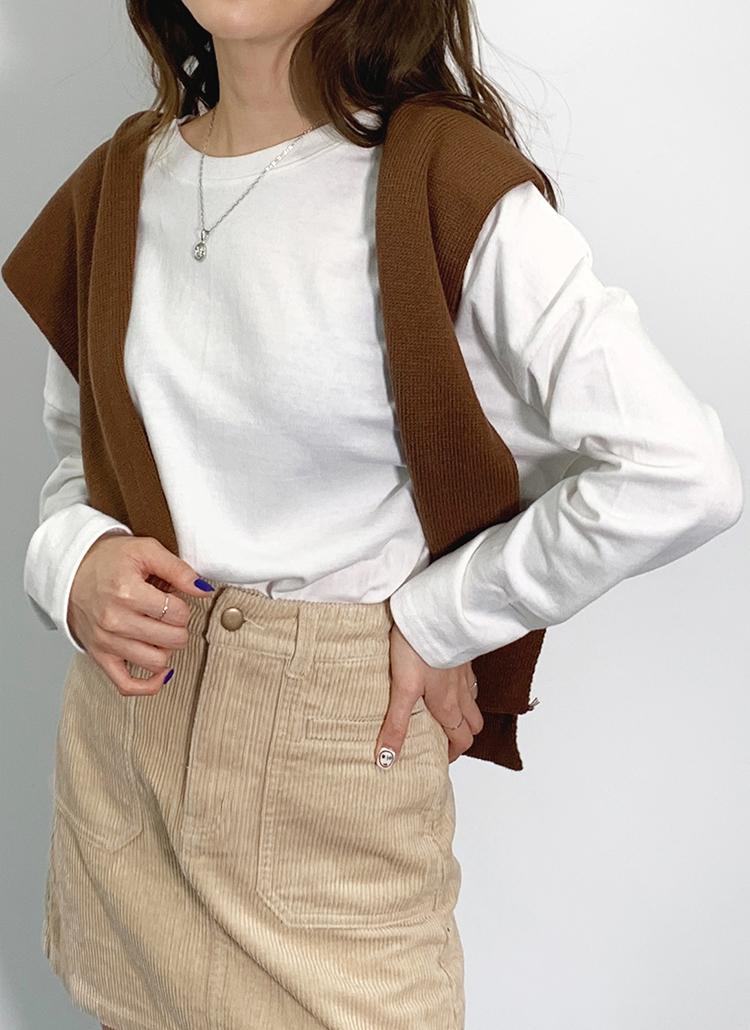 ドロップショルダーTシャツ・全5色