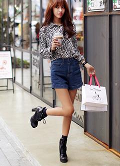 秋のオシャレ韓国ファッション ...