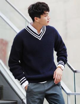 ハイゲージクリケットセーター・全3色