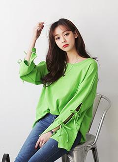 ダブルストラップスリーブTシャツ・全3色