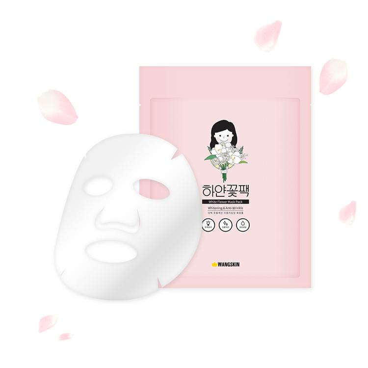 [ワンスキン]ホワイトフラワーマスクパック23g