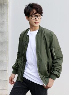 フロントフラップポケットMA-1ジャケット・全2色