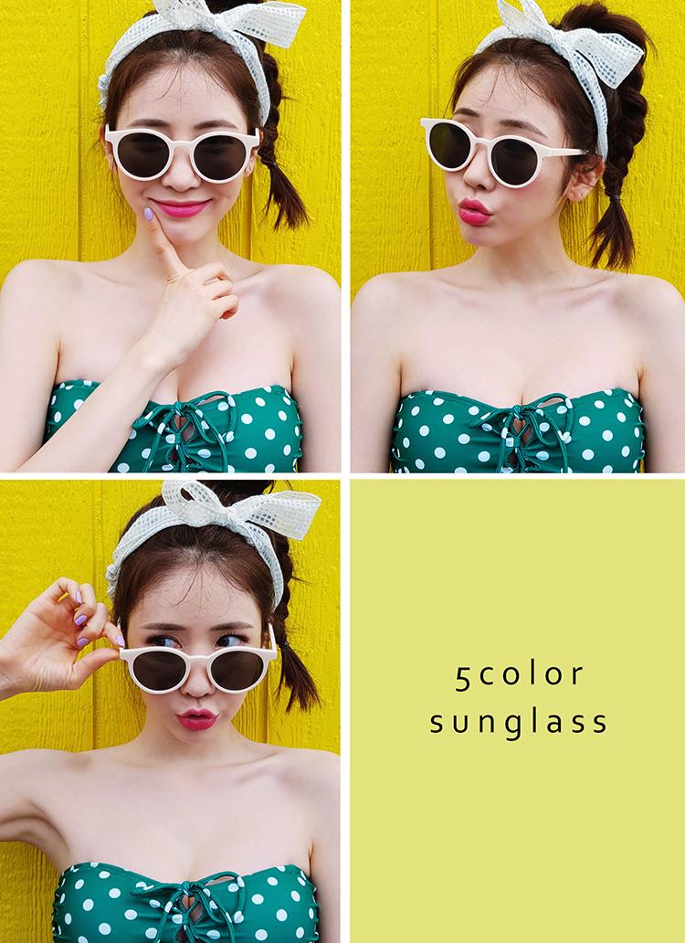プラスチックサングラス・全6色