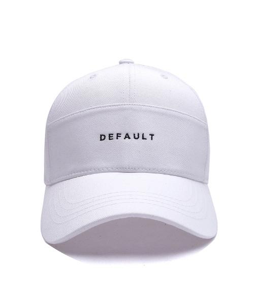 *Default*ワイドディビジョンロゴキャップ(ホワイト)