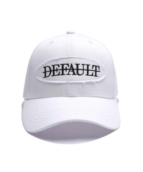 *Default*ディストレスドロゴキャップ(ホワイト)