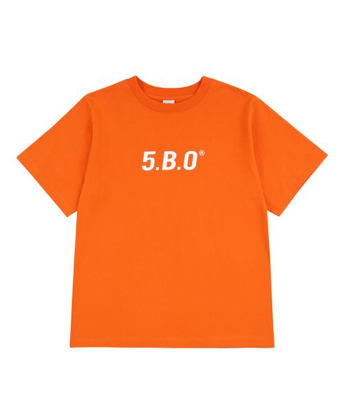 *5252byo!oi*2018 5.B.OシグネチャーTシャツオレンジ