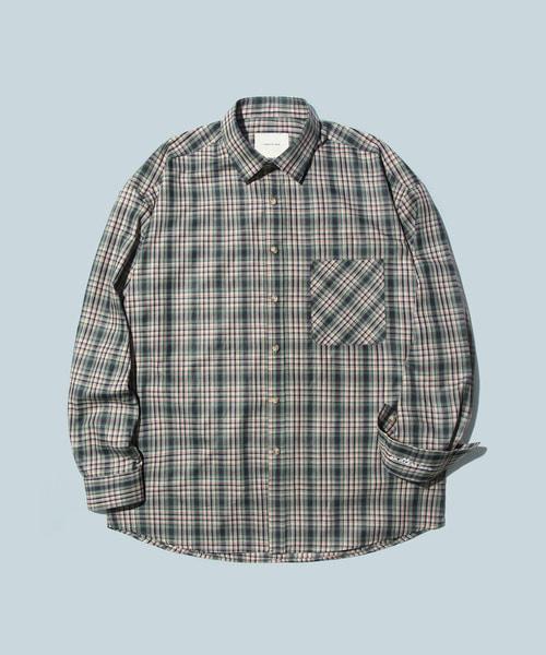 *DIAMOND LAYLA*SSレイラエンドレスラブオーバーサイズオミョチェックシャツS12