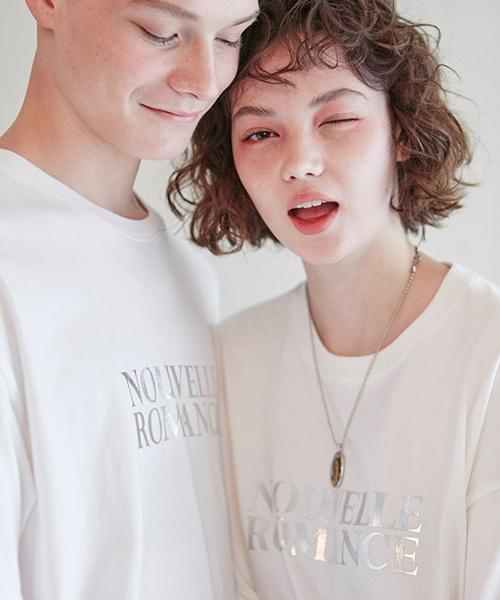 *CLIF*ヌーベルロマンスTシャツ_ホワイト