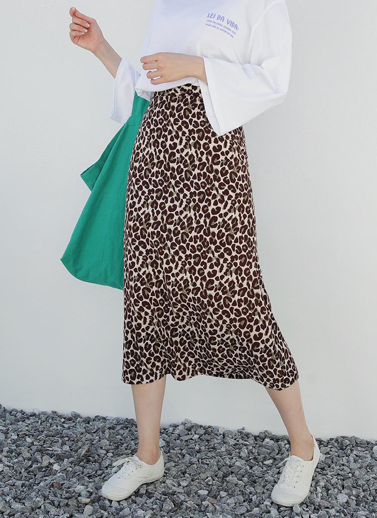 レオパードロングスカート・全2色