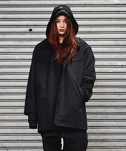 *SMITH ARMOR*オーバーサイズフィットジャケット(ブラック)
