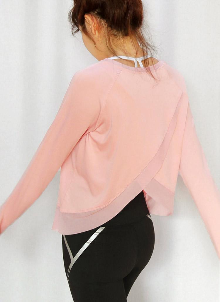 バックスリットラグランTシャツ・全2色