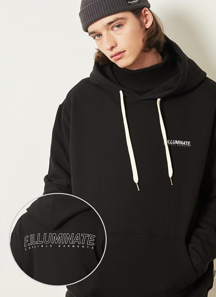 *F.ILLUMINATE*シンプルロゴアノラックジャケット(ブラック)