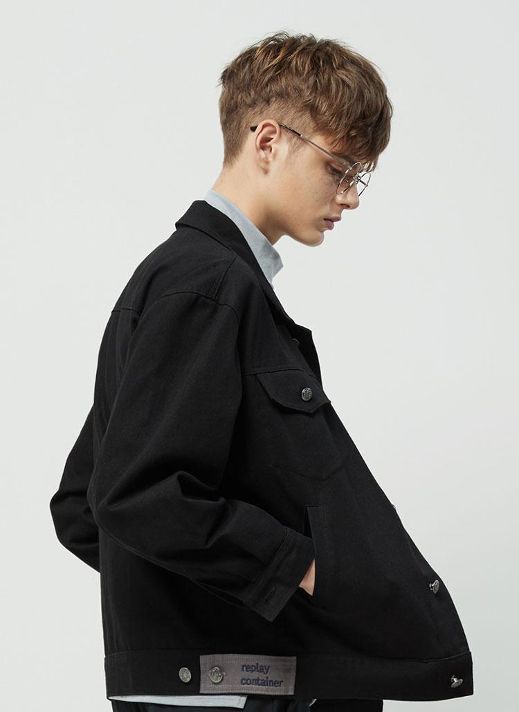 ブラックツイルジャケット