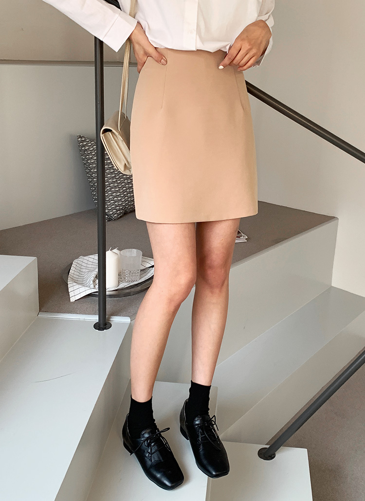 Hラインミニスカート・全6色