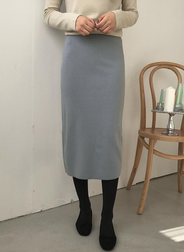 ソフトカラーリングHラインスカート