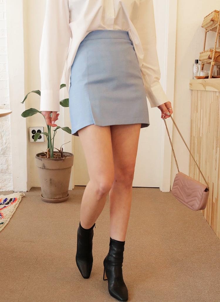 スリットミニマルスカート・全4色