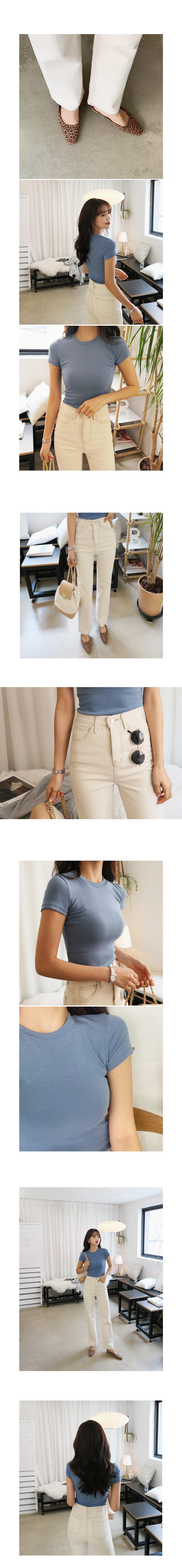 88bcb0addb4df5 ステッチストレートコットンパンツ・全2色パンツ・ズボンパンツ・ズボン ...