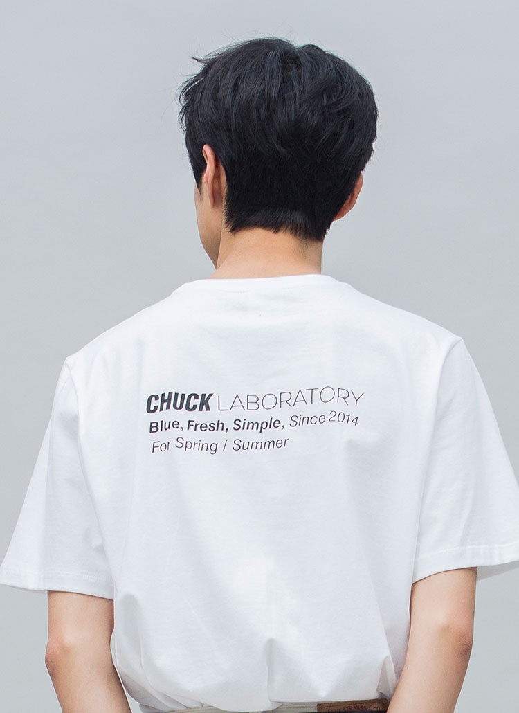 ラボラトリーTシャツ(ホワイト)