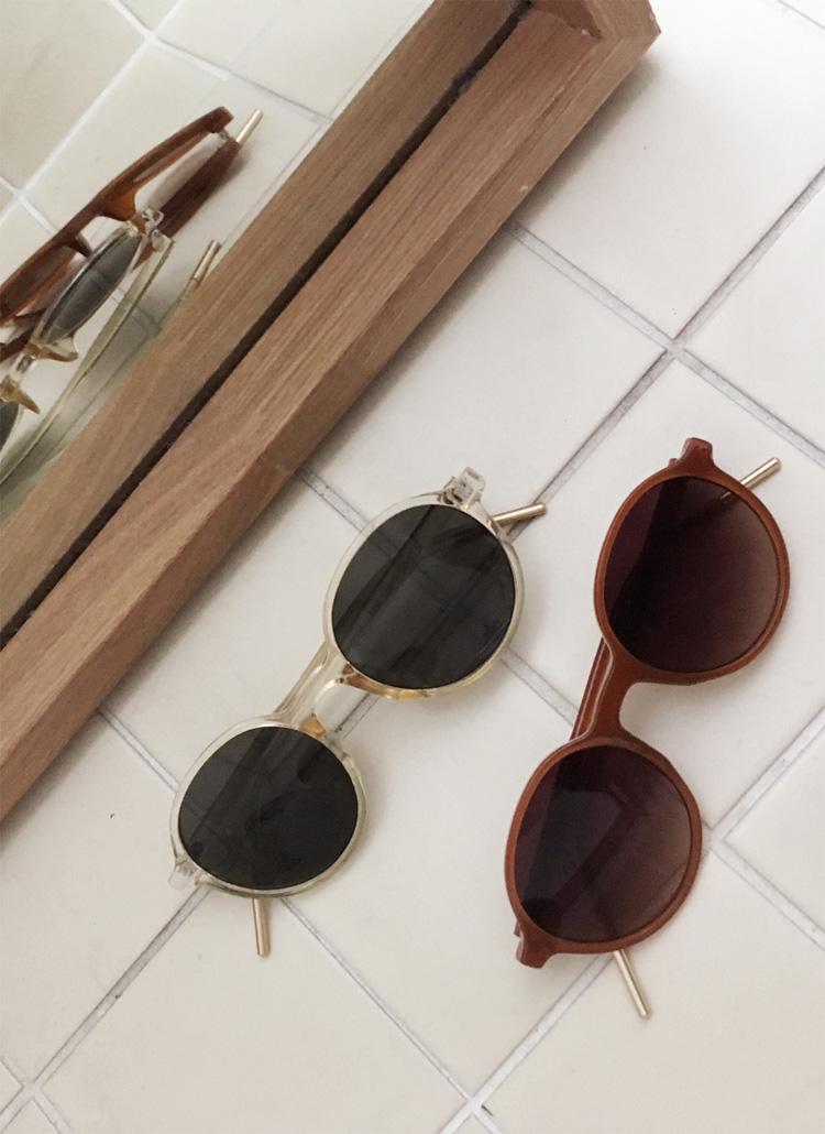 UV400メタルポイントサングラス・全5色