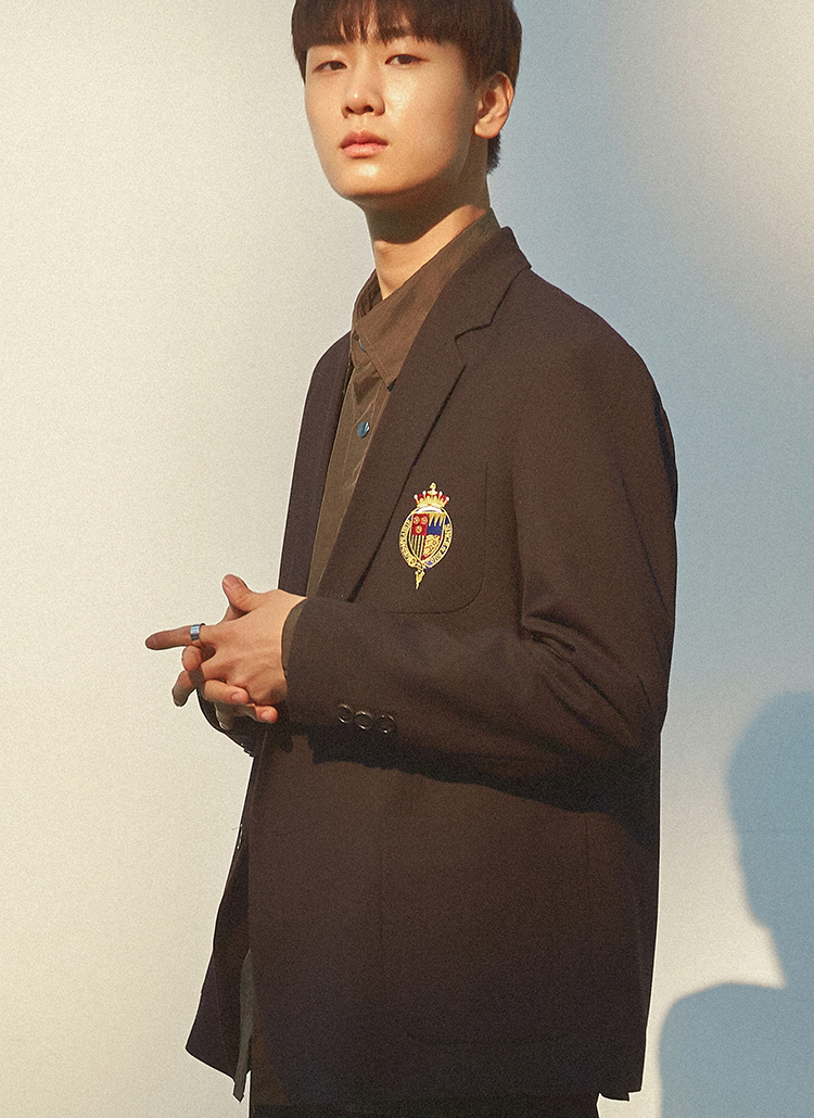 NOBLEロゴポケットジャケット(ブラック)