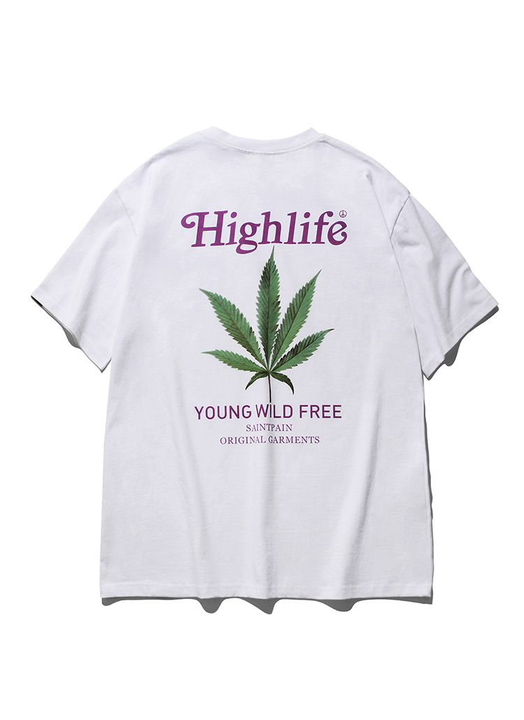 SPロゴプリントTシャツ(ホワイト)