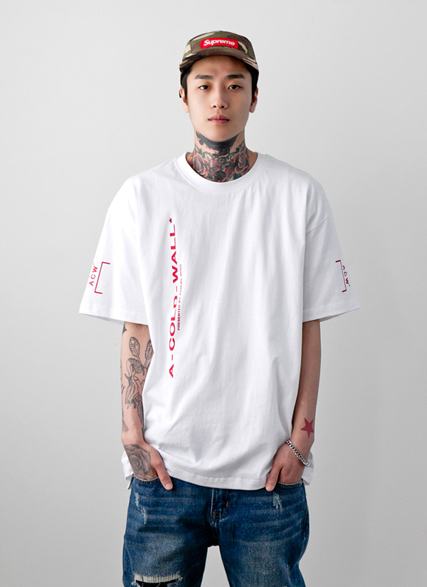 ACWバックパッチ半袖Tシャツ